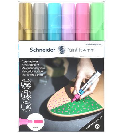 Acryl Marker Schneider Paint-it 320, etui 6st.