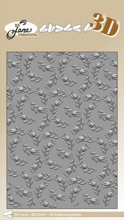 By Lene - Embossing Folder -Starsl