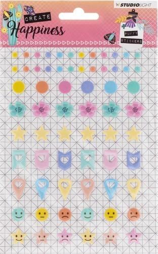 Studio Light - Sticker, Create Happiness nr.01 STICKERCR01