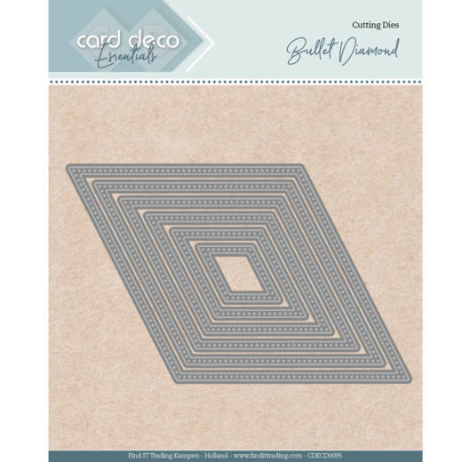 Card Deco Essentials - Nesting Dies - Bullet Diamond