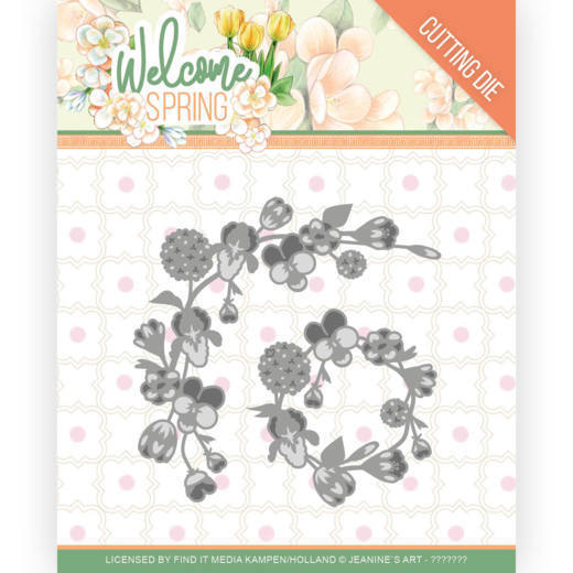 Dies - Jeanine's Art  Welcome Spring - Spring Garland