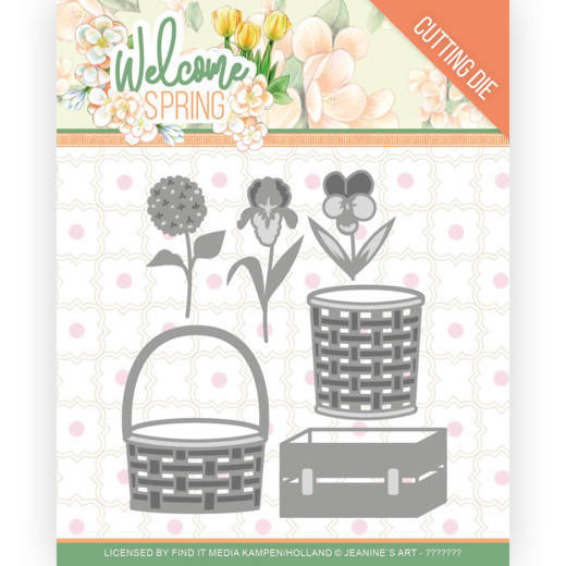 Dies - Jeanine's Art  Welcome Spring - Spring Basket