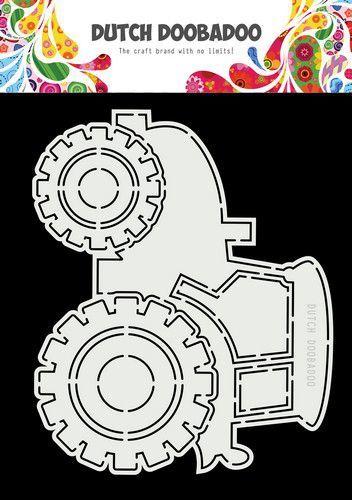 Dutch Doobadoo Dutch Card Art A5 Tractor 470.713.852 17,5x14,5cm (02-21)