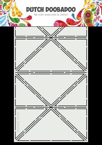 Dutch Doobadoo Dutch Card Art A4 Tricon Fold 470.713.854 28x15cm (02-21)