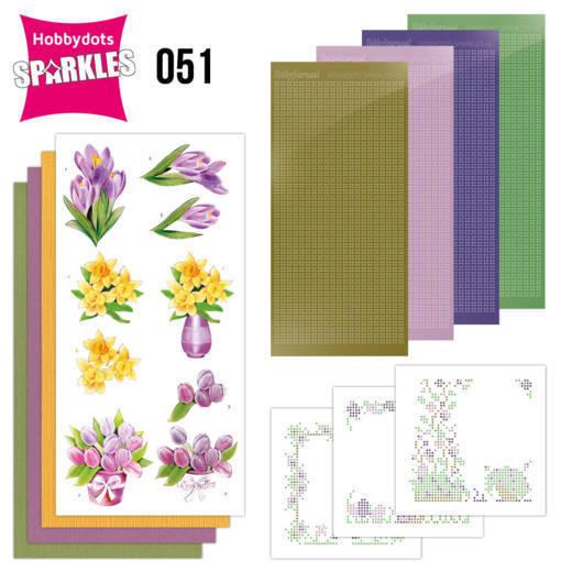 Sparkles Set 51 - Jeanine's Art - Spring Flowers