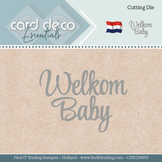 Card Deco Essentials - Dies - Welkom Baby