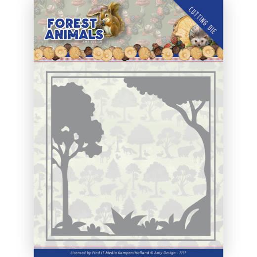 Dies - Amy Design  Forest Animals - Forest Frame