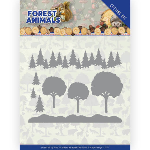 Dies - Amy Design  Forest Animals - In the Forrest