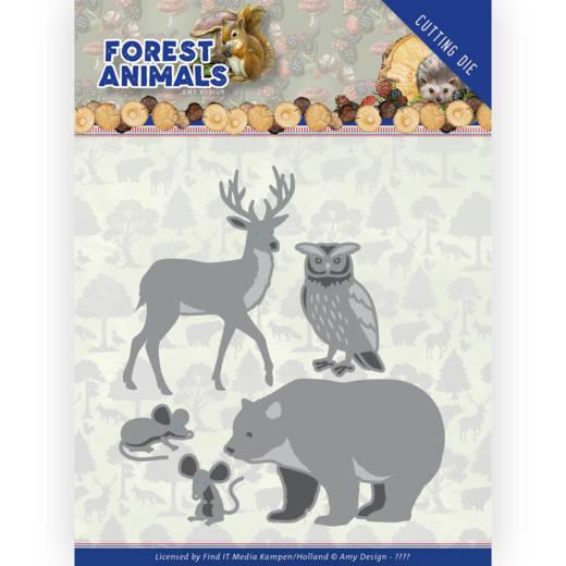 Dies - Amy Design  Forest Animals - Forest Animals 1