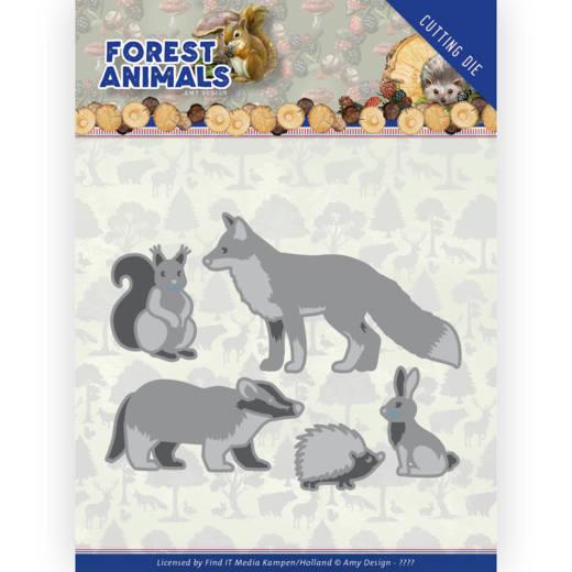 Dies - Amy Design  Forest Animals - Forest Animals 2