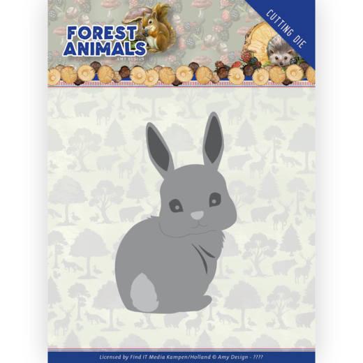 Dies - Amy Design  Forest Animals - Bunny HZ+ Die