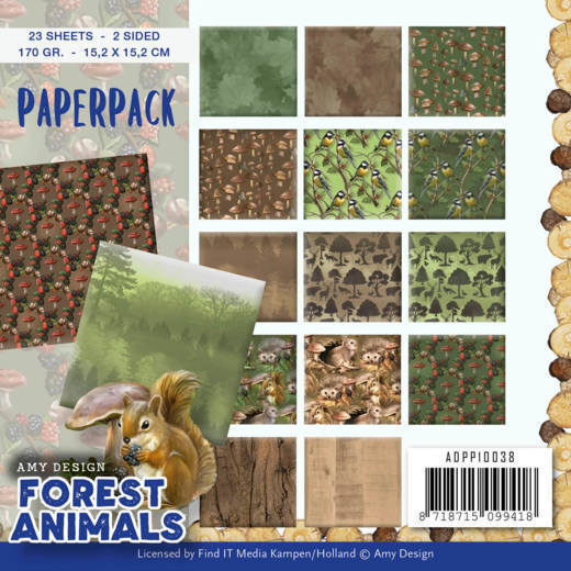 Paperpack - Amy Design  Forest Animals