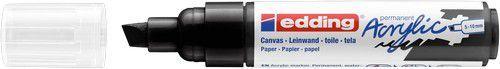 edding-5000 Acrylic Marker diep zwart 1 ST 5-10mm / 4-5000901 (02-21)