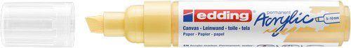 edding-5000 Acrylic Marker pastelgeel 1 ST 5-10mm / 4-5000915 (02-21)