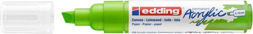 edding-5000 Acrylic Marker geelgroen 1 ST 5-10mm / 4-5000927 (02-21)