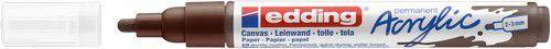 edding-5100 Acrylic Marker chocoladebruin 1 ST 2-3mm / 4-5100907 (02-21)