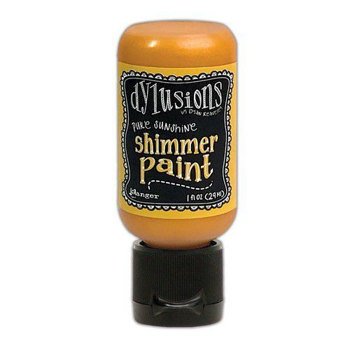 Ranger Dylusions Shimmer Paint Flip Cap Bottle - Pure Shine DYU74465 (03-21)