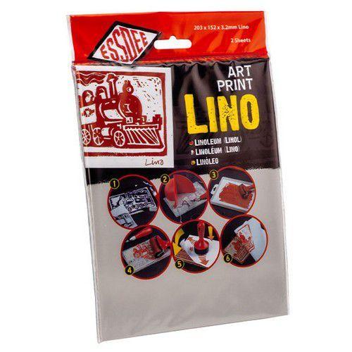 Essdee Linoleum 203x152x3.2mm 2 St 3.2/L3-2