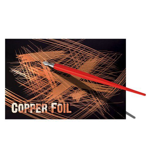 Essdee Scraperboard koper - 10 vel 229x152mm CFB2A