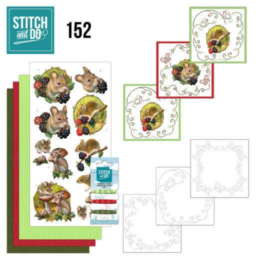 Stitch and Do 152 - Amy Design - Forest Animals