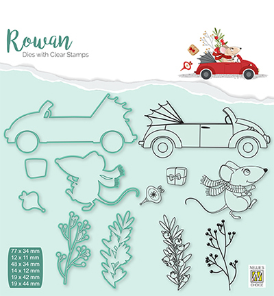 Christmas mouse-4 car