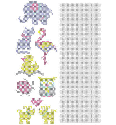 Crosscraft free pattern-1 'animals'