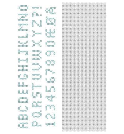 Crosscraft free pattern-1 'alphabet'