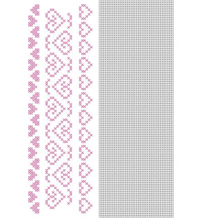 CrossCraft Pattern-10 Heart borders-2