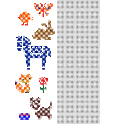 CrossCraft Pattern-12 Animals