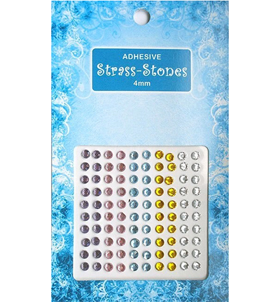 Adhesive Strass Stones, Ass. 2