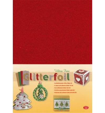 Glitterfoil, Red