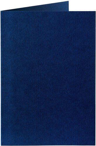 Papicolor Dubbele kaart A6 marineblauw 200gr-CV 6 st 309969 - 105x148 mm