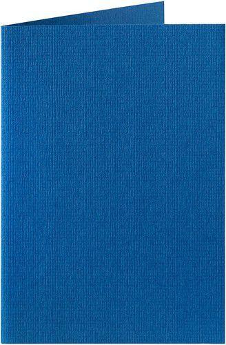 Papicolor Dubbele kaart A6 royal blauw 200gr-CV 6 st 309972 - 105x148 mm