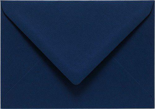 Papicolor Envelop C6 marineblauw 105gr-CV 6 st 302969 - 114x162 mm