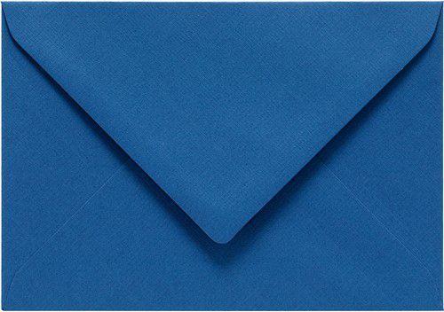 Papicolor Envelop C6 royal blauw 105gr-CV 6 st 302972 - 114x162 mm