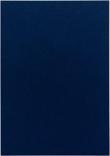 Papicolor Karton A4 marineblauw 200gr-CV 6 vel 301969 - 210x297mm