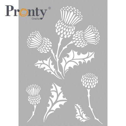 Pronty Mask stencil Distel 470.803.075 A4 (03-21)