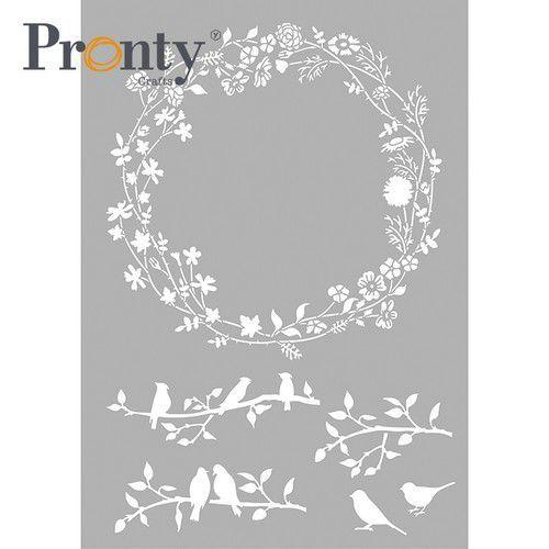 Pronty Mask stencil Lente Krans 470.803.076 A4 (03-21)