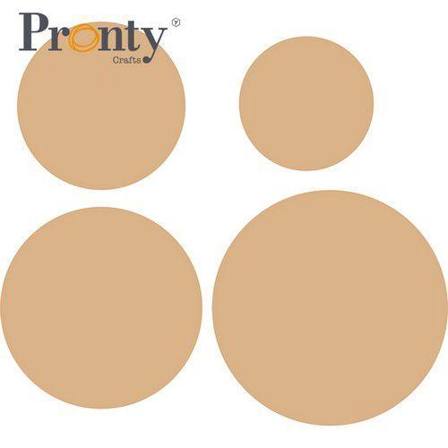 Pronty MDF Muur Panelen 4 maten 460.427.254 Ø20,25,30,35cm 3mm (03-21)