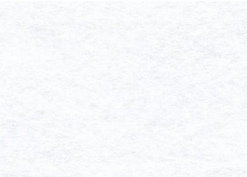 Viltlapjes viscose wit  (10vel) 20x30cm - 1mm