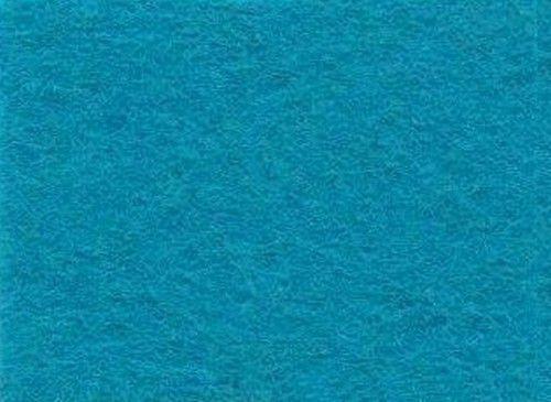 Viltlapjes viscose turkoois  (10vel) 20x30cm - 1mm