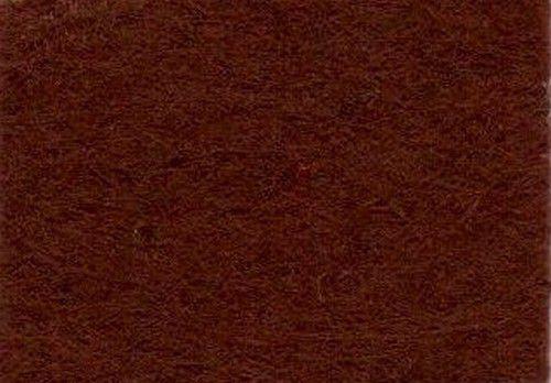 Viltlapjes viscose donkerbruin  (10vel) 20x30cm - 1mm