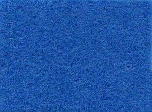 Viltlapjes viscose middenblauw  (10vel) 20x30cm - 1mm
