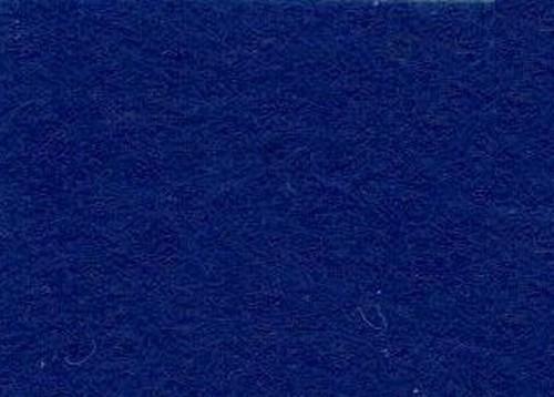 Viltlapjes viscose donkerblauw  (10vel) 20x30cm - 1mm