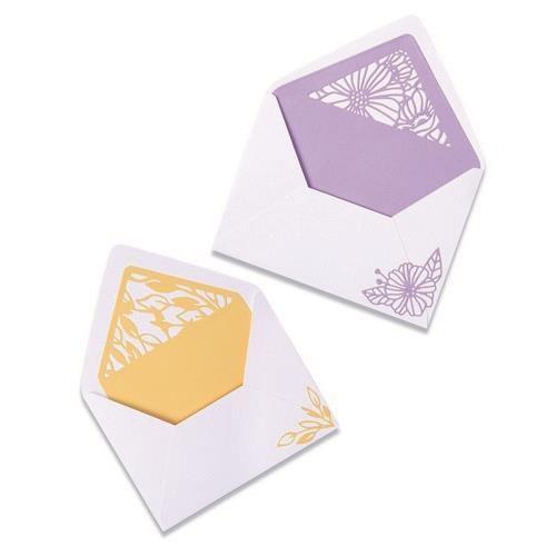 Sizzix Thinlits Die Set - Delicate Envelope Liners 6PK 665176 Olivia Rose (04-21)