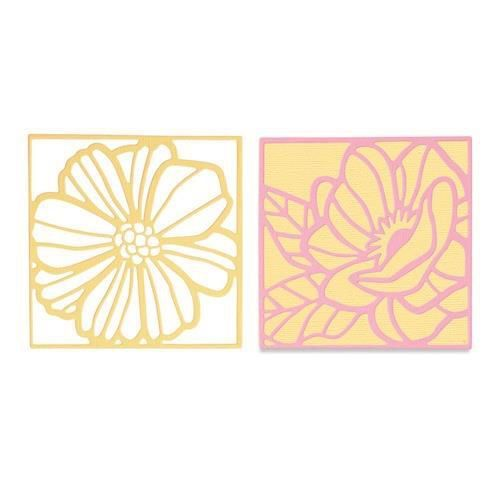 Sizzix Thinlits Die Set - Floral Card Fronts 3PK 665177 Olivia Rose (04-21)