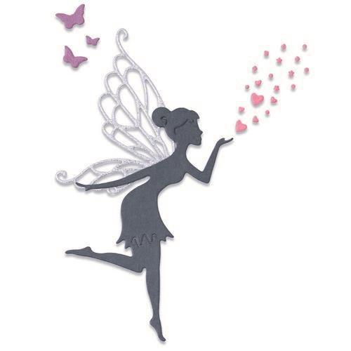 Sizzix Thinlits Die Set - Fairy Wishes 5PK 665178 Lisa Jones (04-21)