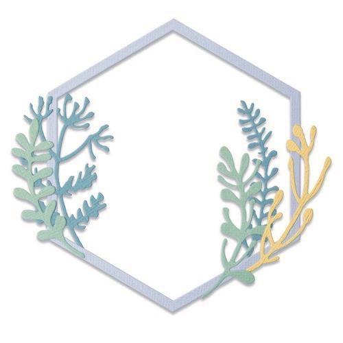 Sizzix Thinlits Die Set - Botanical Frame 6PK 665179 Jen Long (04-21)