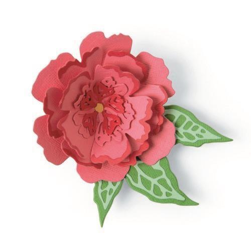 Sizzix Thinlits Die Set - Pop-Up Flower 10PK 665188 Jessica Scott (04-21)