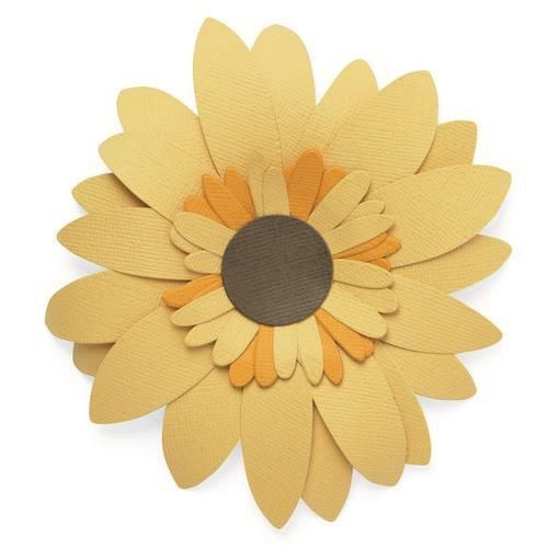 Sizzix Bigz Die - Sunflower 665191 Olivia Rose (04-21)